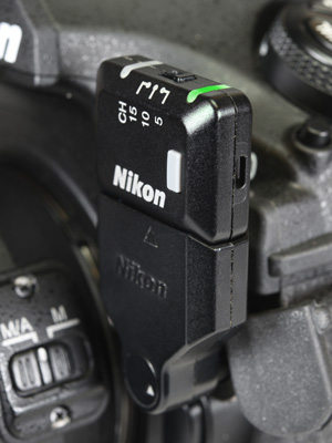 Radio and Optical control options for wireless multiple flash