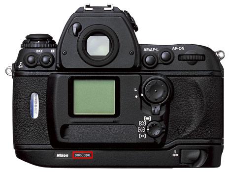 Nikon F6 serial number